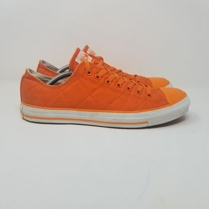Converse All-star Low Quilted Unisex Orange Shoe